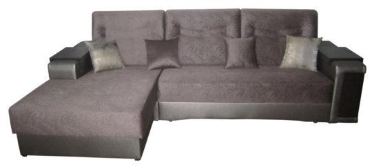 """Угловой диван кровать """"Портос 160 крок бар, кофейник"""""""